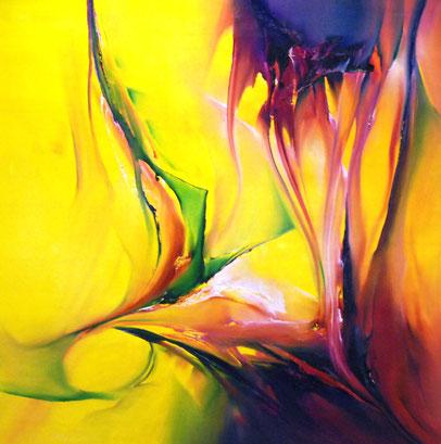 Abstrakte Kunstgemälde