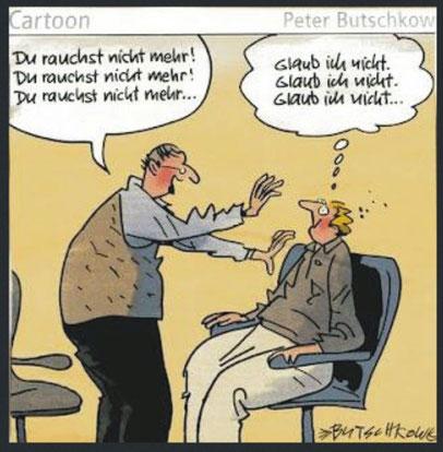 Wie Hypnose nicht funktioniert? Wenn Sie nicht wollen!