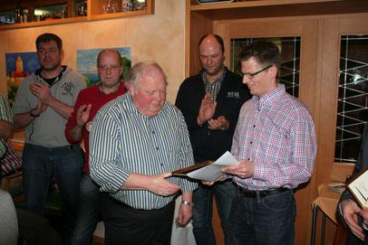 Dieter Bernard seid 50 Jahren aktiver Musiker