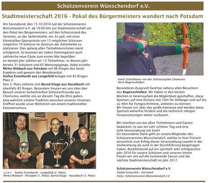 Bild: Schützenverein Wünschendorf