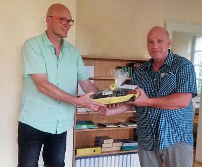 1. Vorstand gratuliert Harald Sperber zum 60. Geburtstag