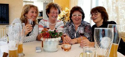 Die Sängerfreunde gratulierten Inge Dotzauer zum 75. Geburtstag