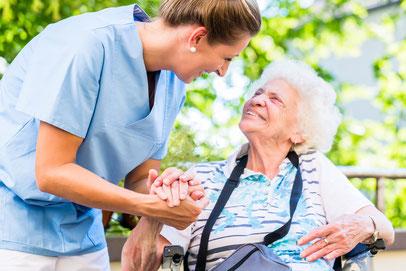 Kranken- und Altenpflege mit 24 Stunden-Bereitschaft