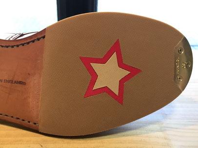 shoerepairViragon 靴修理ヴァラゴン : 個性的!ハーフソール : Tricker's(トリッカーズ)