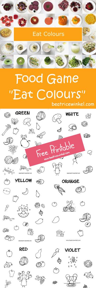 Food Game - Eat Colours - Beatrice Winkel