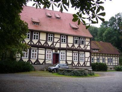 Gutshaus Bockerode Hofseite