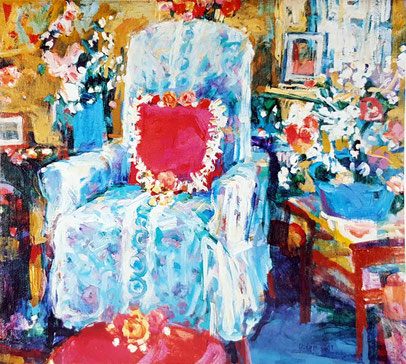 """Blue Chair""  1987"