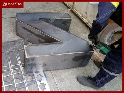 کارگاه آهنگری ساخت المان و مبلمان شهری فلزی آهنی مدرن مجسمه فلزی ماکت فلزی ماکت تبلیغاتی فلزی