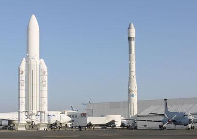 Ariane 5 and 1, Musée de l'air et de l'espace, Le Bourget