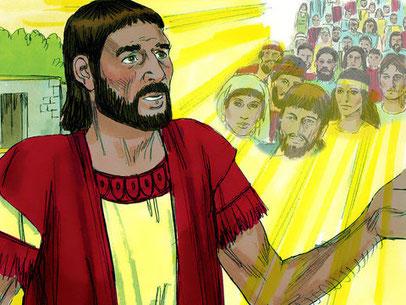 L'un des premiers serviteurs de Jéhovah Dieu cités dans la Bible est Abraham. Dieu conclut avec lui la première alliance. Sa descendance prendra possession des territoires compris entre le Nil et l'Euphrate.