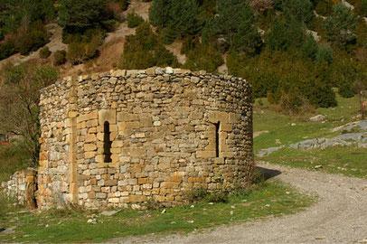 Ermita de San Nicolás de Bujaruelo.