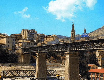 viaducto de Canalejas de Alcoy en la Comunidad Valenciana.