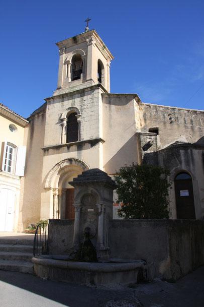 Bild: Kirche in Lourmarin