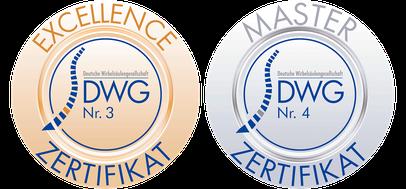 Auszeichnungen der Deutschen Wirbelsäulengesellschaft für Prof. Dr. Rauschmann.