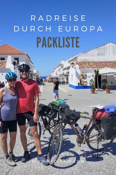 Radreise Europa: Packliste