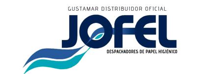 JOFEL MAYORISTAS DEL DESPACHADOR DE PAPEL HIGIÉNICO JOFEL MINI ATLÁNTICA ANTIBACTERIAL AE32000