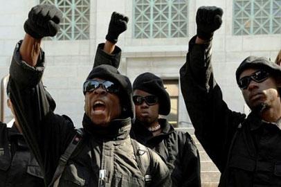 Medlemmer af Black Panther Party