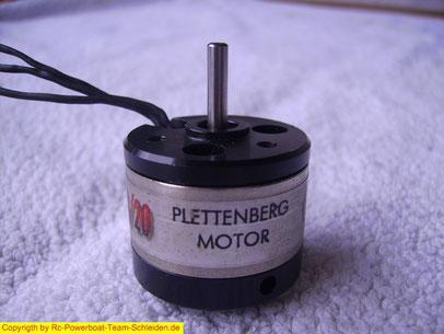 Plettenberg  Typoon micro  6-20 Die orginal  Plettis erkennt man an dem schwarzen Gehäuse .  Es handelt sich um einen 10Poler mit zweifachem Kugellager. Geeignet bis 700-1000g  bei 2-3 LiPo .