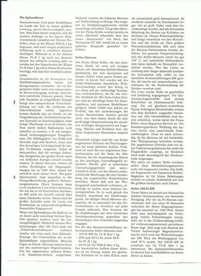 Keller Motoren Story