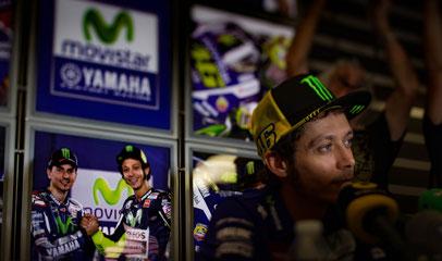 Er ist die MotoGP: Valentino Rossi. Um ihn dreht sich nach wie vor der komplette Sport.