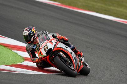 Stefan Bradl wird etwas enttäuschend nur 16er beim MotoGP Rennen in Misano