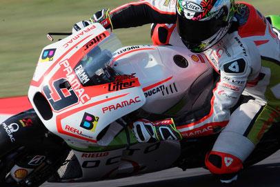 Bester Ducati Fahrer in Misano: Danilo Petrucci