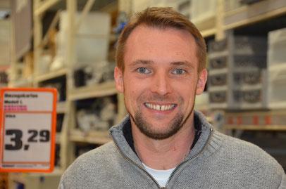 Dominik Heuel (35), Diplom Betriebswirt und Marktleiter bei OBI