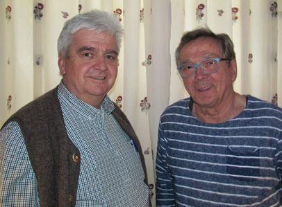 Die Seniorensieger: Karl-Heinz Walle´ und Bernd Kawka