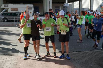 Rhein-City-Run von Düsseldorf nach Duisburg