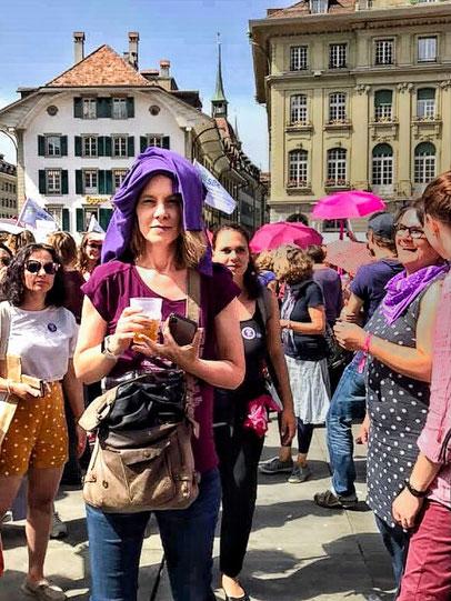 Am Frauenstreik, 14. Juni 2019 (Bundesplatz, Bern)
