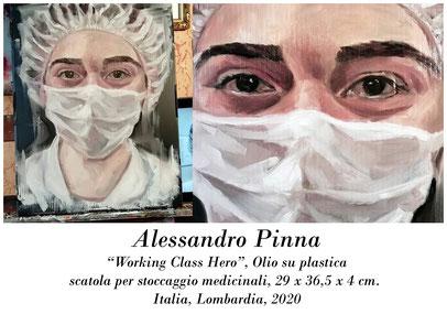Appunti d'Arte di Tamara Follesa_Gli artisti al tempo della pandemia: Covid-19 (parte terza)_Alessandro Pinna