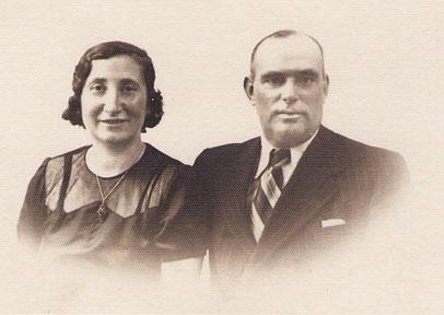 Frieda Simon geb. Hammerschlag mit ihrem Mann Max Simon