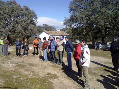 Visita a MAYUGUIZA, actividades de Custodia del Territorio