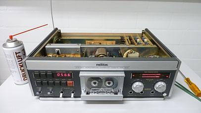Revox B710 - Schwerpunktgerät bei AudioContour