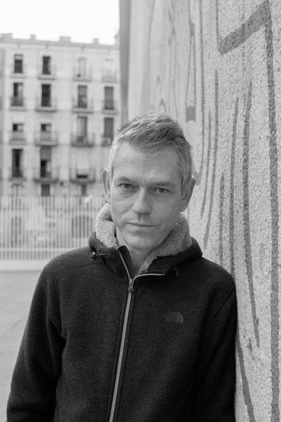 El poeta i assagista Lluís Calvo. Foto: Carles Mercader