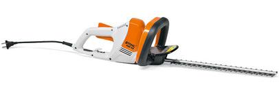 Aktion bei Kruse Gartentechnik: Elektroheckenscher HSE 42, leichte und kompakte Heckenschere.