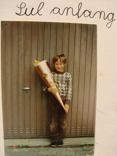 Mein erster Schultag 1985