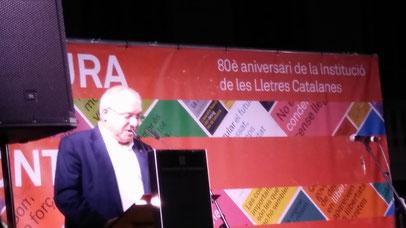 Conseller de Cultura Lluís Puig i Gordi