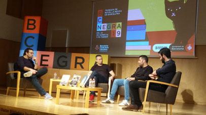 D'esquerra a dreta: Orovio, Olmo, Carretero i Andreu