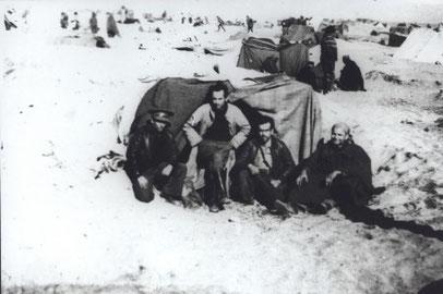 Refugiats al camp de concentració de Saint Cyprien