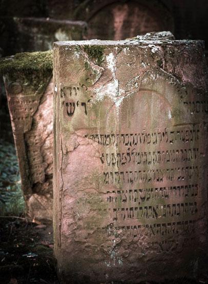 Frankfurt - Alter Jüdischer Friedhof  Battonstraße