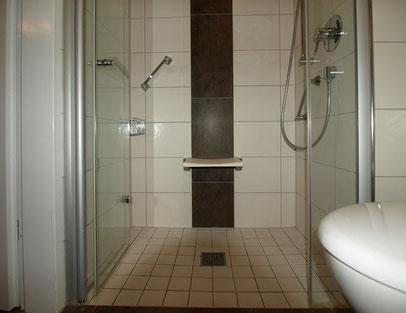 Ferienwohnung Cuxhaven 3.28 barrierefreie Dusche im 4. OG
