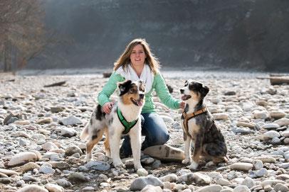 Jessica mit Flynn und Baileys (Foto: Willem Bosboom)