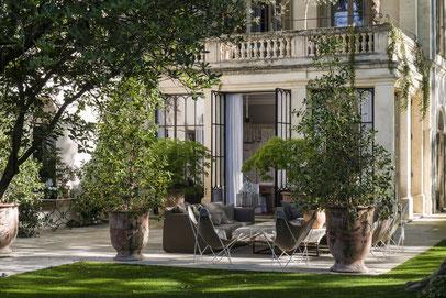 Villa mit Garten in Avignon