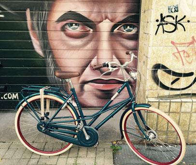 BATAVUS Hommage seablue Nordstadt Hannover Graffiti