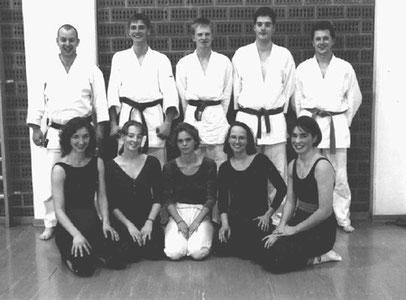 Das gemeinsame Unterwössen/Mainz Kata-Team