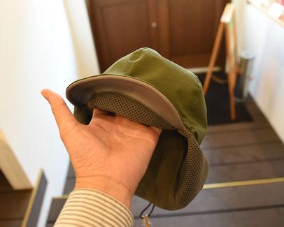 バックカントリー用の帽子
