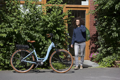 Das Fahrgefühl mit City e-Bikes bei einer Probefahrt testen