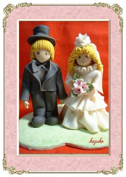 ウェディング人形(1)