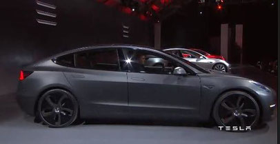 Tesla Model 3 ikratos